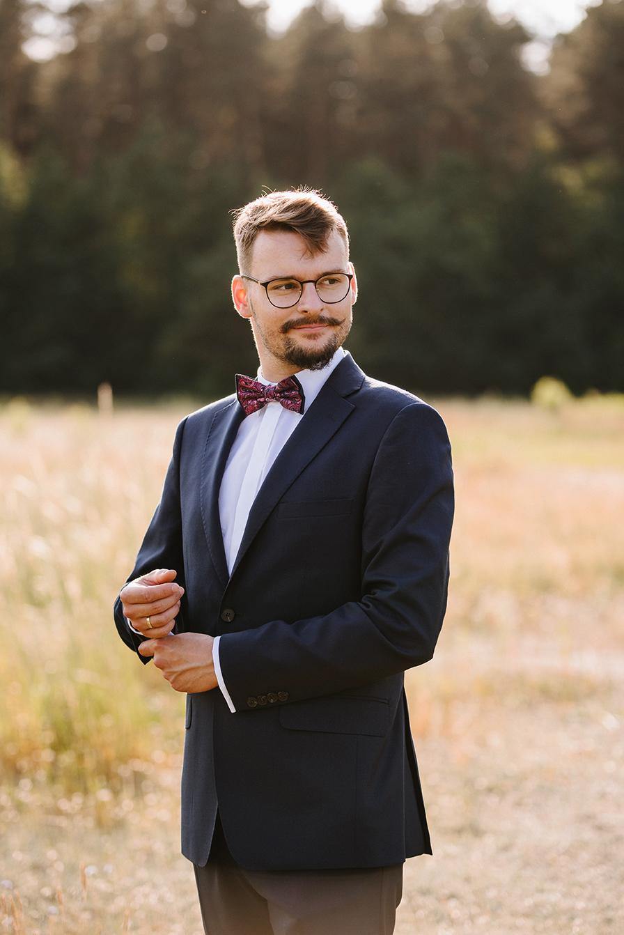 Kasia i Michał | Sesja w sercu magicznej Puszczy Kampinoskiej