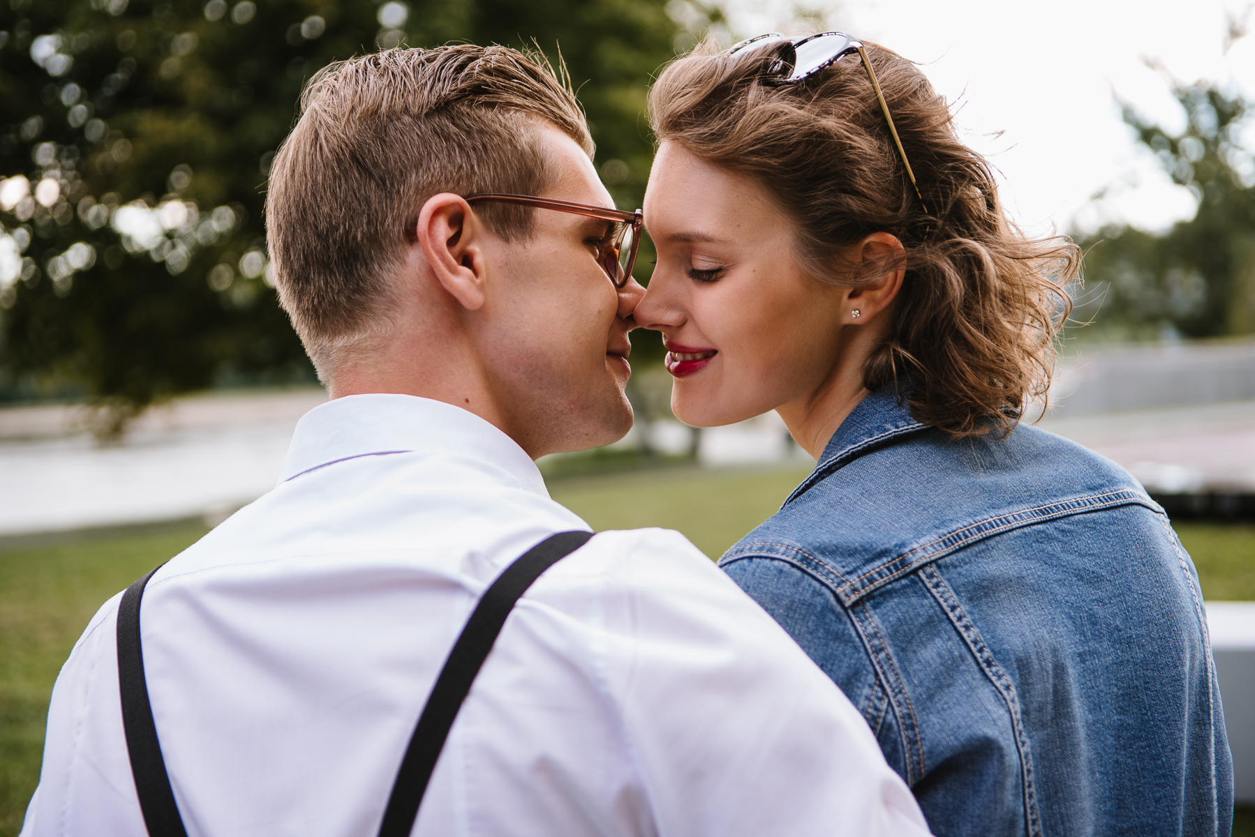 Małgosia i Mateusz   Sesja ślubna o świcie!
